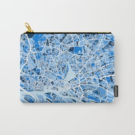 Hamburg Germany City Map Carry-All Pouch