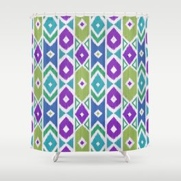 Wood Boho 2 Shower Curtain