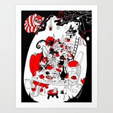 Alice's Adventures in Wonderland Art Print
