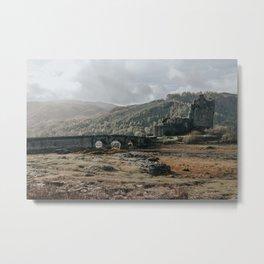 Eilean Donan Castle - Scotland Metal Print