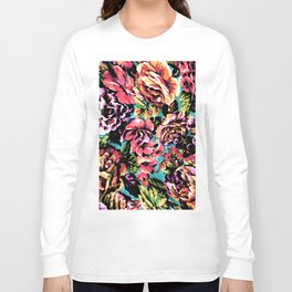Psychedelic Flowerz Long Sleeve T-shirt
