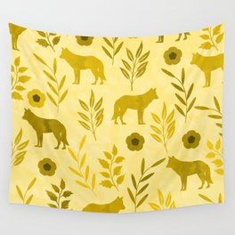 Forest Animal and Nature III Wall Tapestry
