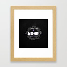 Fight for Nohr! Framed Art Print