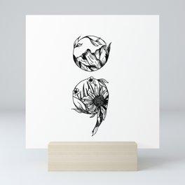Cont;nue Mini Art Print