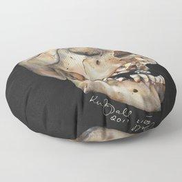 Open Mouth Skull Floor Pillow