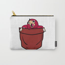 Uganda Knuckles in a pocket Carry-All Pouch