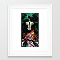 bleach Framed Art Prints featuring Bleach by AlcoholicRattleSnake
