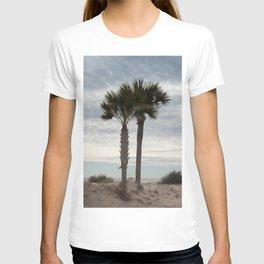 Palm Trees at the beach T-shirt
