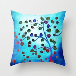 tree of life v Throw Pillow