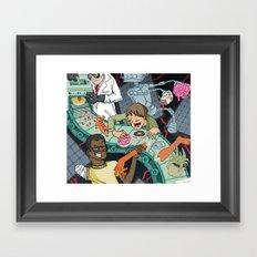 Futurists Framed Art Print