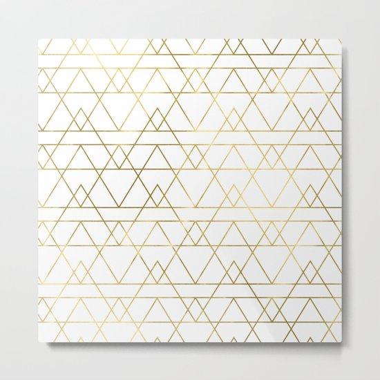 Modern Gold Metal Print