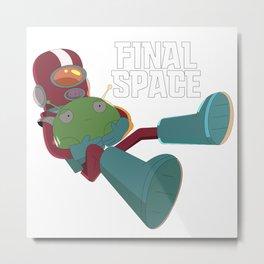 Final Space Metal Print