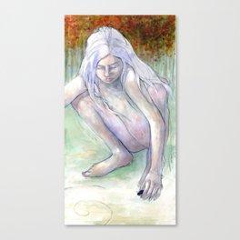 Spiral Girl Canvas Print