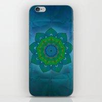 lotus iPhone & iPod Skins featuring Lotus by Angelo Cerantola