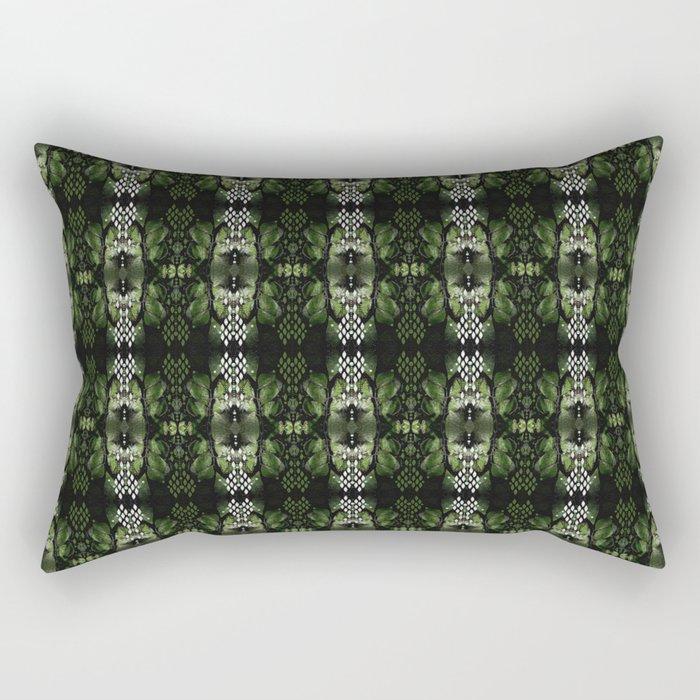 Maidenhair & Moonbeams 02 Rectangular Pillow