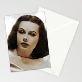 Hedy Lamarr, Hollywood Legends Stationery Cards