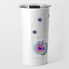 Geometry space Travel Mug