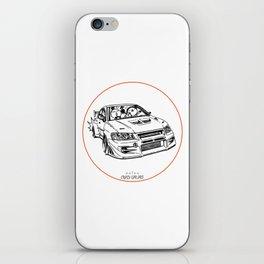 Crazy Car Art 0196 iPhone Skin