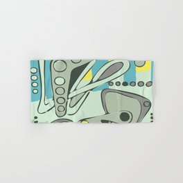 Absorbing Abstract Art Accomplished Adroit Aesthetic Pleasing Aggressive Hand & Bath Towel