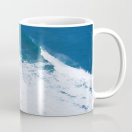 Tropical Ocean Surf Waves in Hawaiian Paradise Coffee Mug