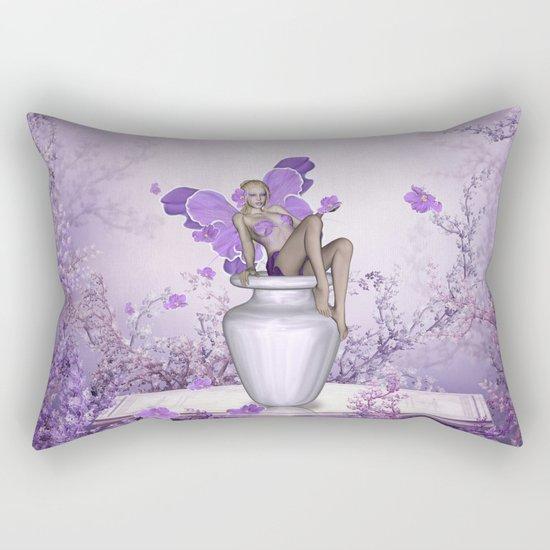 Beautiful fairy Rectangular Pillow