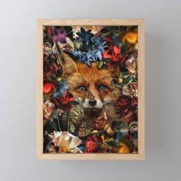 the eyes, chico Framed Mini Art Print