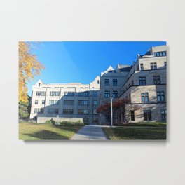 University of Toledo- Stranahan Hall North and South Halls II Metal Print