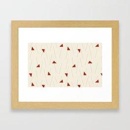 Minimal Winter Framed Art Print