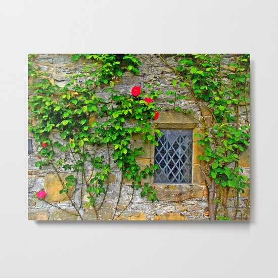 English Castle Metal Print