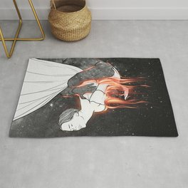 The flames of love. Rug