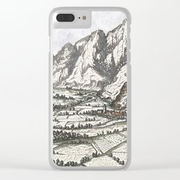 Valley scene of the Tyrol No. 2 Clear iPhone Case