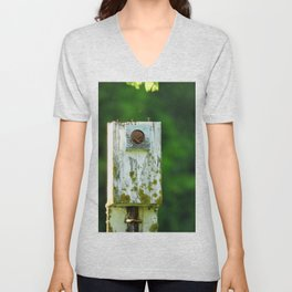 The Home is a Nest Unisex V-Neck
