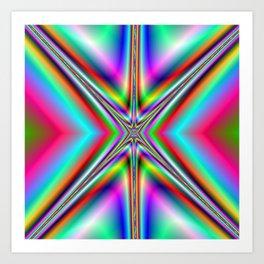 Blazing Star Art Print