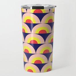 ART DECO RAINBOW Travel Mug