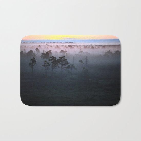 Foggy Earth Bath Mat