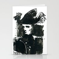 napoleon Stationery Cards featuring napoleon by Chuchuligoff