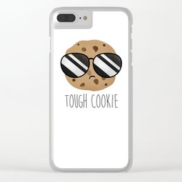 Tough Cookie Clear iPhone Case