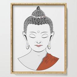 Life of Buddha Serving Tray