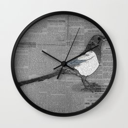 Bad News Bird Wall Clock