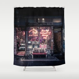 Underground Boxing Club NYC Shower Curtain
