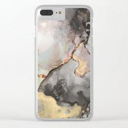 Mercury Rising Clear iPhone Case