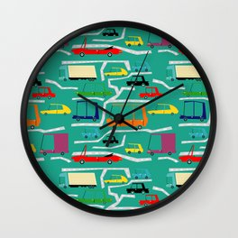la traffic Wall Clock