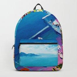 Beautiful Vernazza Backpack