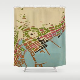 cypher number 9 Shower Curtain