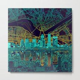 louisville skyline abstract Metal Print