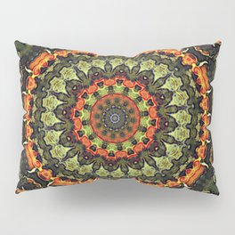 Citrus Infused Mandala Pillow Sham