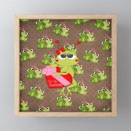 For My Sweetie Framed Mini Art Print