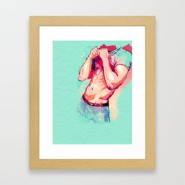 Bod Framed Art Print