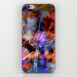 Floral Cloud Spectacle iPhone Skin