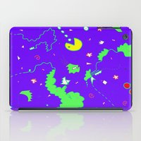 pac man iPad Cases featuring Pac-Man by Amanda Trader